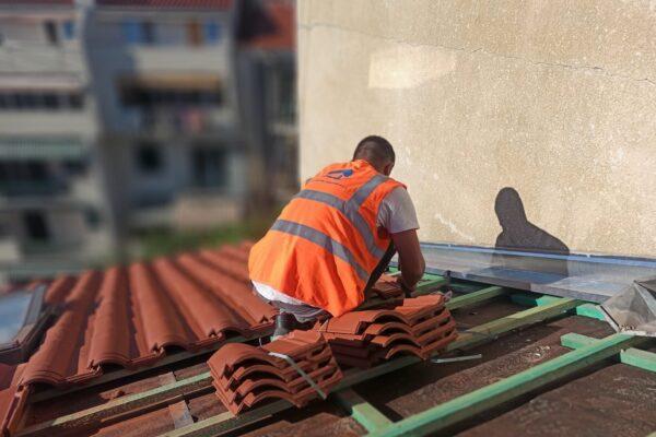 Krovo-pokrivačke radove