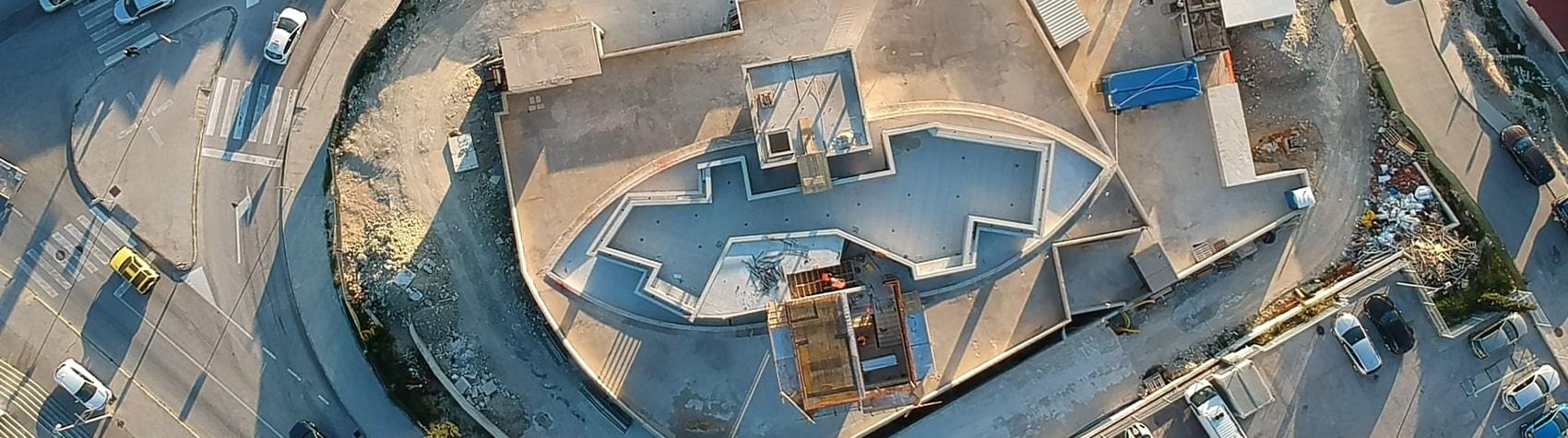 Završeni su građevinski radovi na bazenu na krovu zgrade u Splitu