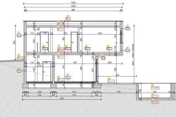 2.Gradnja privatne Vile s bazenom u Rogoznici shema